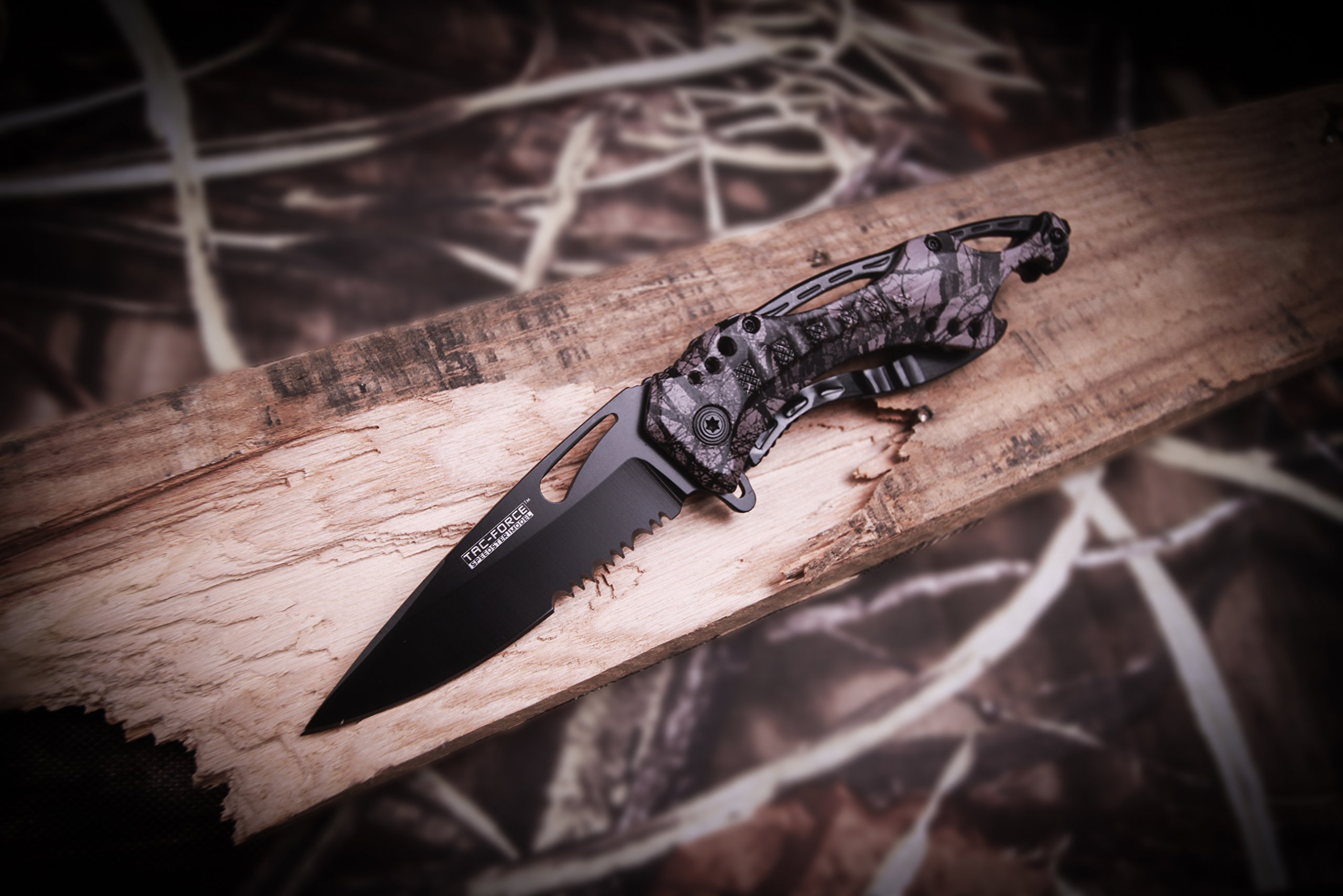 TAC Force TF-705FC Tactical Spring Assisted Knife 4.5'' Closed