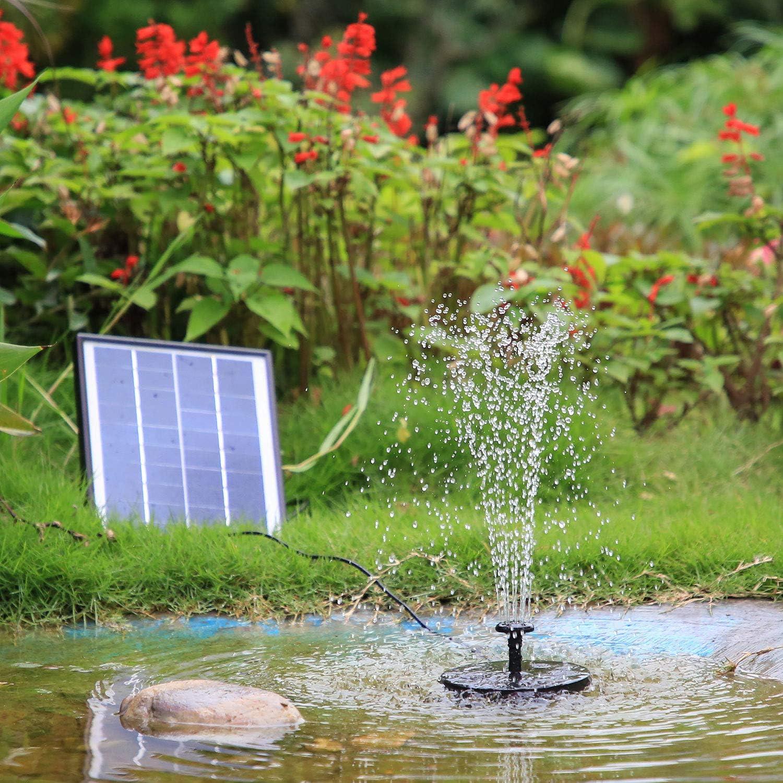Vitcoco Fontein op zonne-energie