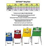Seat Sack Storage Pocket, Standard, 14 Inches, Red
