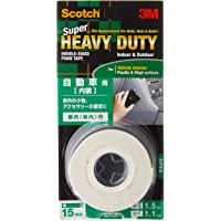 Scotch KCP15 Strong Double-Sided Foam Tape, 15 mm x 1.5 m x 0.8 m, White
