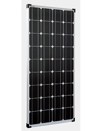 enjoysolar® Mono 100W Módulo solar 12 V Panel solar Monocristalino 100 W ideal para autocaravanas