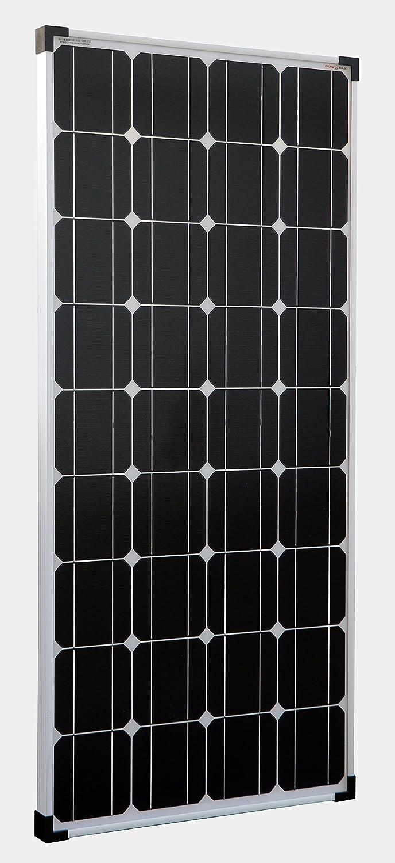 enjoysolar® , modulo fotovoltaico monocristallino, da 100 W, 12 V, ideale come pannello solare per camper, casa da giardino, barca da 100W 12V SolarV