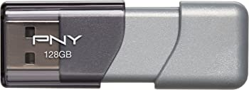 PNY Elite Turbo Attache 3 128GB USB 3.0 Flash Drive