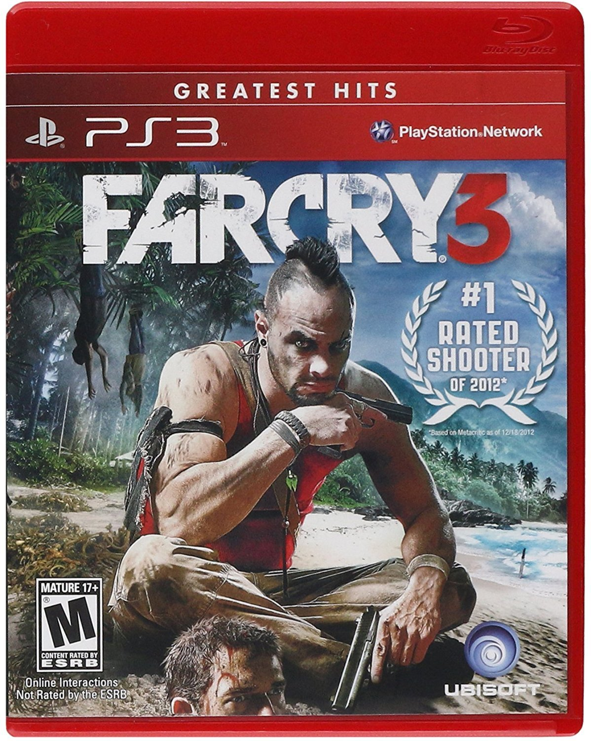 Amazon Com Far Cry 3 Playstation 3 Ubisoft Video Games
