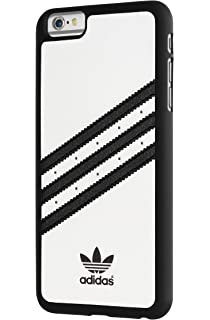 hot sale online 17ad5 c9ed0 Adidas Moulded Carcasa para Apple iPhone 6 Plus, color blanco y negro