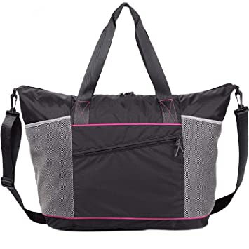 55a26498dc9d Gym Tote Bag for Women with Rommy Pockets