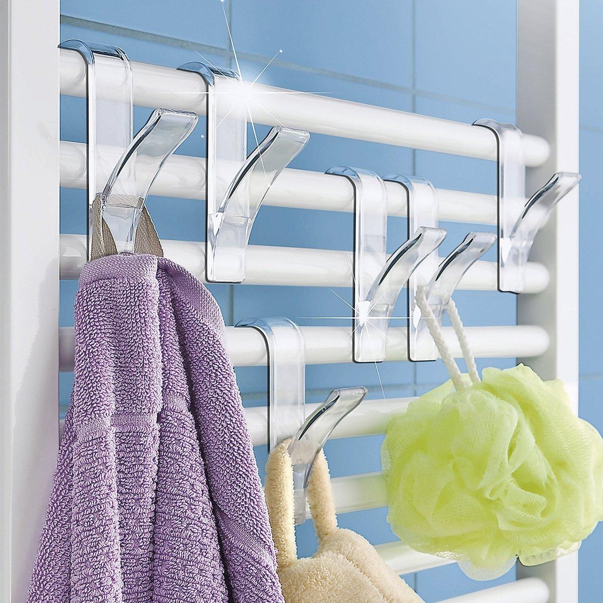 Wenko - Ganchos para radiador, 6 unidades, color blanco: Amazon.es: Juguetes y juegos