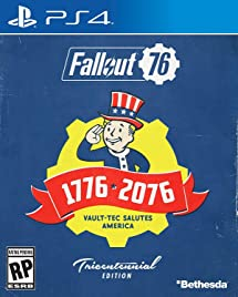 Amazon.com: Fallout 76 - PlayStation 4 Tricentennial Edition ...