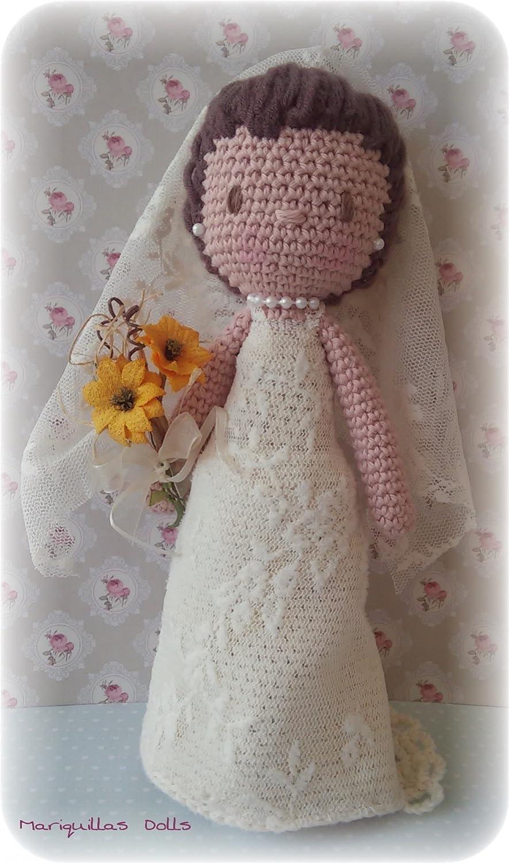 Pareja de Novios Personalizables, a crochet. Amigurumis ...