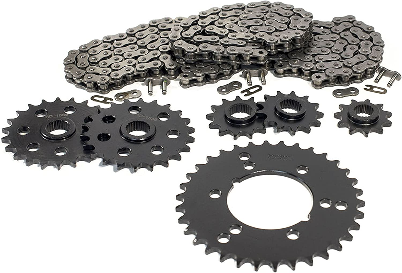 Non O-Ring Chains 520-64L,70L,84L 1994 1995 1996 1997 Polaris Sportsman 400 4X4