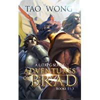 Adventures on Brad Books 1 - 3: A LitRPG Fantasy Series (Adventures on Brad Omnibus)