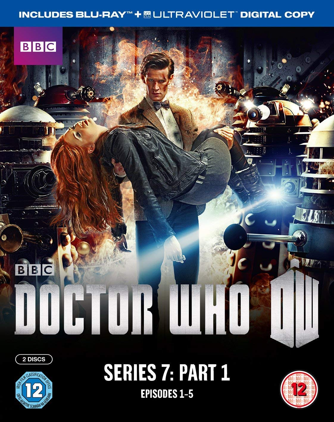 Doctor Who - Series 7 Part 1 [Reino Unido] [Blu-ray]: Amazon.es: Matt Smith, Karen Gillan, Arthur Darvill, Jenna-Louise Coleman, Mark Williams, Riann Steele, Rupert Graves, Ben Browder, Adrian Scarborough, Steven Berkoff, Jemma