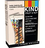 KIND Bars, Dark Chocolate Almond and Coconut , 1.4 Ounce,4 Count.