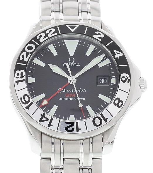 Omega Reloj De Viento Automático Seamaster 168.1613 para Hombres: Omega: Amazon.es: Relojes