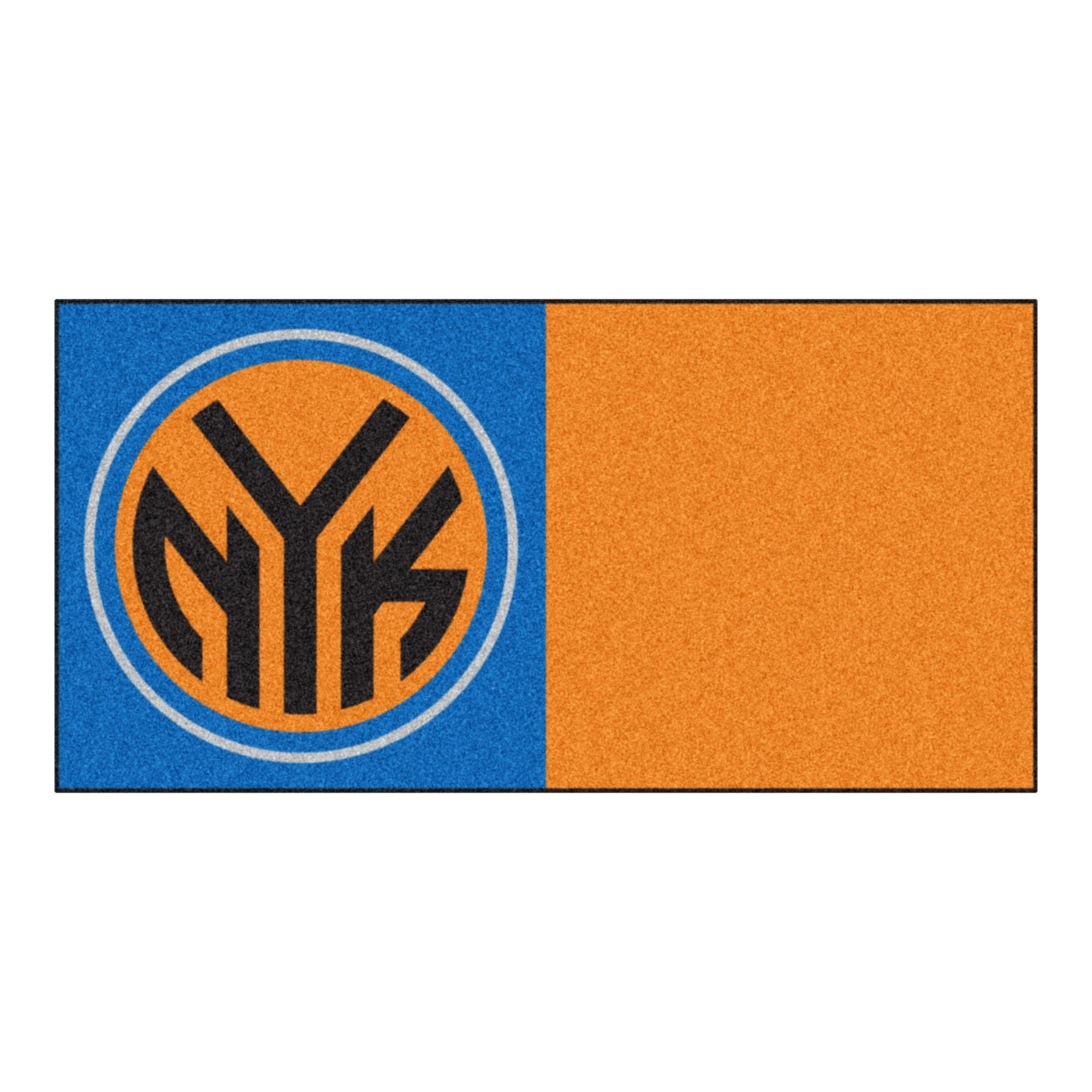 FANMATS NBA New York Knicks Nylon Face Team Carpet Tiles