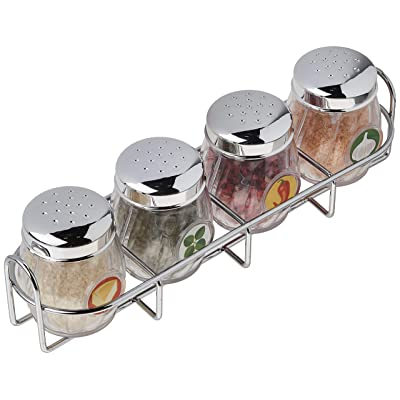 Melissa & Doug Condiments Set (5 pcs) - Play Food, Stainless Steel Caddy: Melissa & Doug: Toys & Games