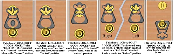 Deadbolt Bump Key Safety Security Travel Home Anti Bumping Lock The Door Angel