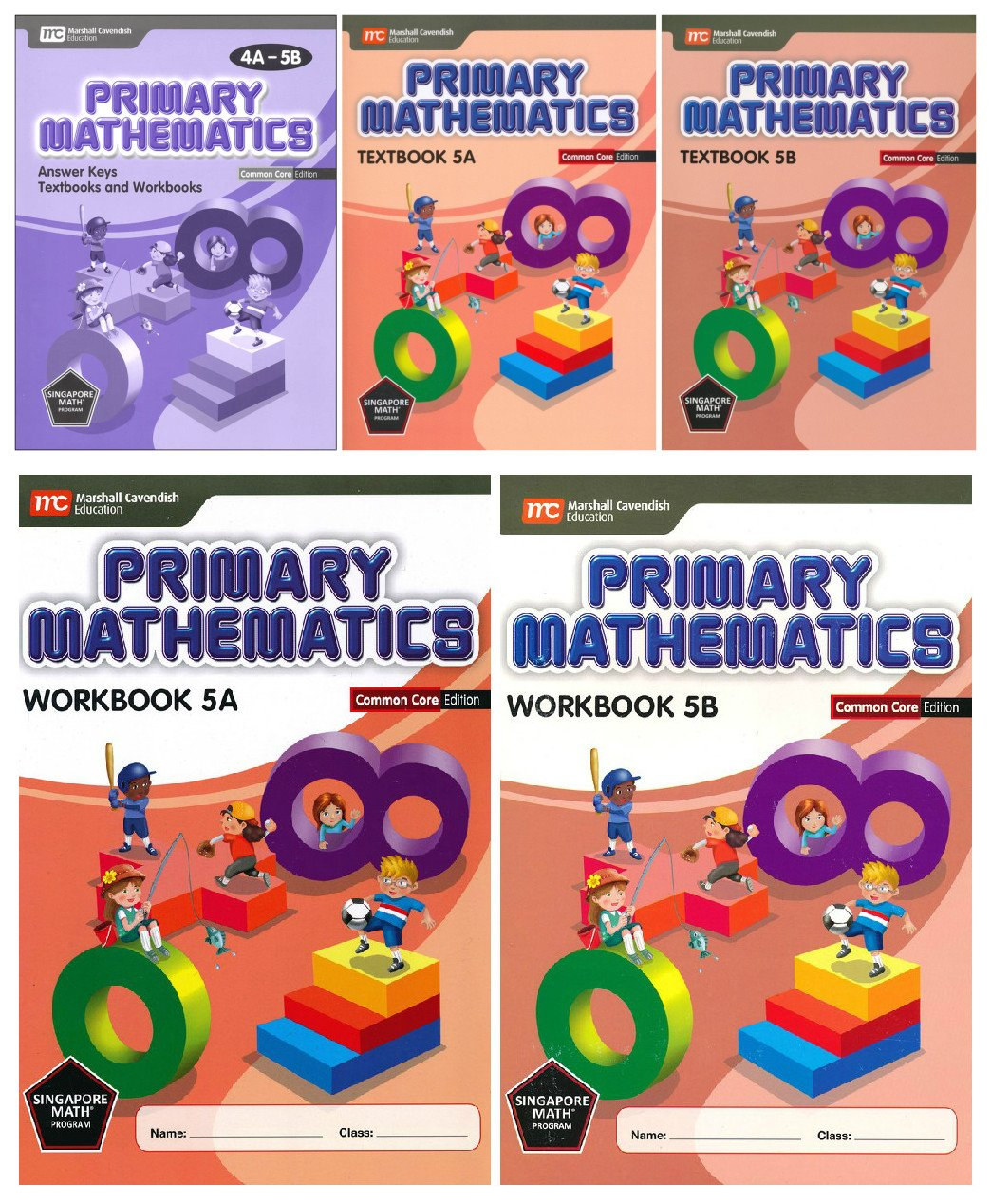 Singapore Primary Mathematics Level 5 KIT + Answer Booklet