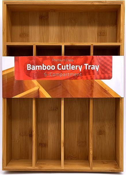 Attirant Utopia Kitchen Bamboo Kitchen Tray Organizer   Bamboo Drawer Organizer    Silverware Tray   Bamboo Hardware