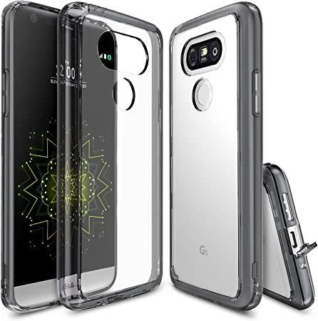 Ringke Funda LG G5, [Fusion] Choque Absorción TPU Parachoques ...