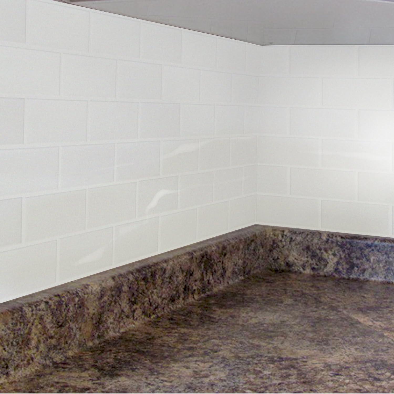 Amazon peel and impress peel and stick tile backsplash amazon peel and impress peel and stick tile backsplash crystal subway 1125 x 10 4 pack home kitchen dailygadgetfo Choice Image