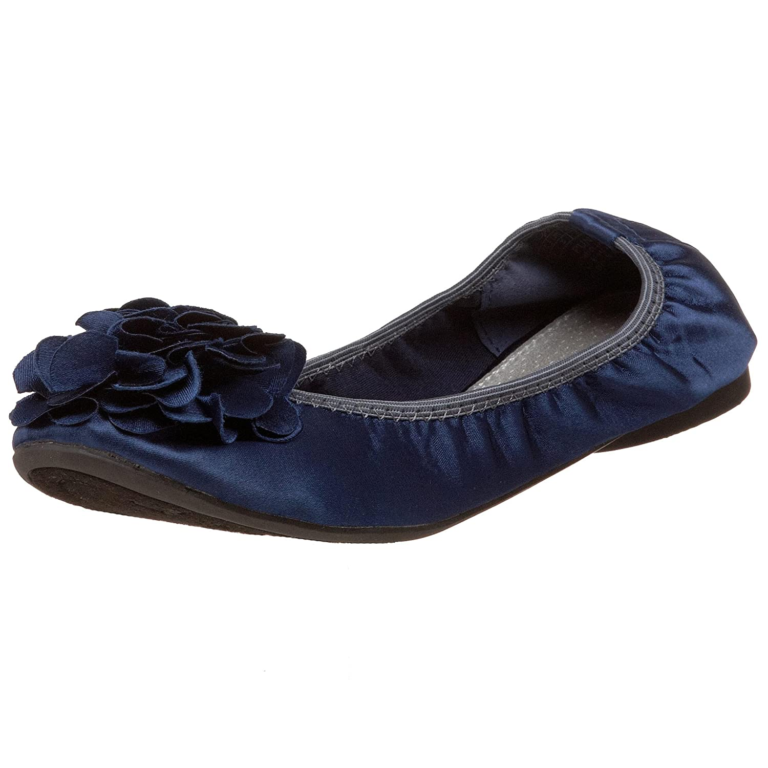 Wanted Shoes Women's Punk Ballet Flat B003PIO56Y 8.5 B(M) US|Navy
