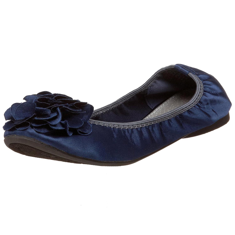 Wanted Shoes Women's Punk Ballet Flat B003PIQ09Y 6 B(M) US|Navy