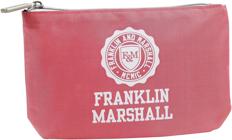 Franklin Marshall Make Up Bag con El Power Bank Bolsos Neceser Vanity Pochettes Rosa: Amazon.es: Equipaje