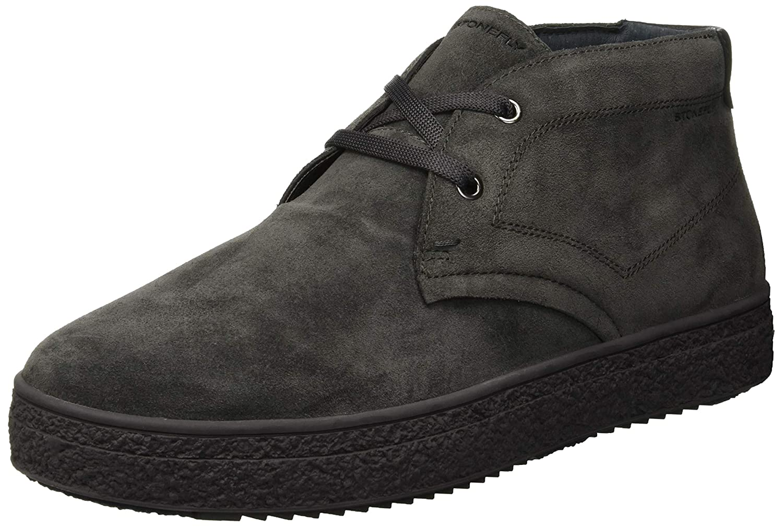 Stonefly Voyager 3 Velour Shade, Zapatos de Cordones Derby para Hombre