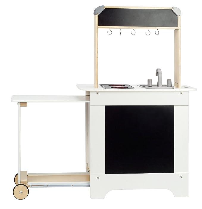 Kinderküche Holz mit Tafel - Hape All-In-One Spielküche mit Tafel