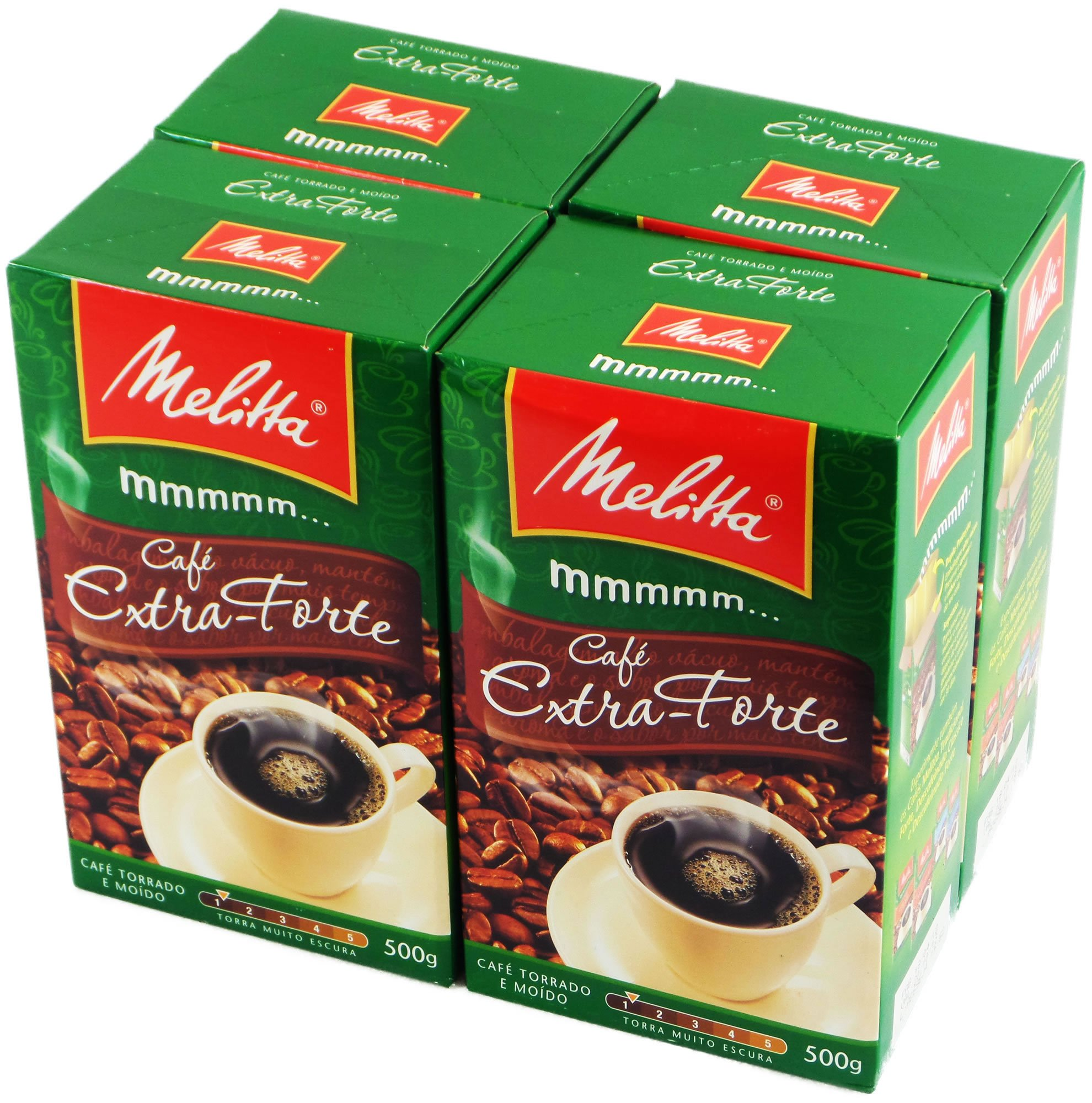 Melitta Extra Strong Roasted Coffee - 17.6 oz - (PACK OF 04)
