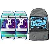e019a329b8 37in Bodyboard Bundle - 2 x TBF Krayzee Bodyboards + Carry Bag (Blue ...