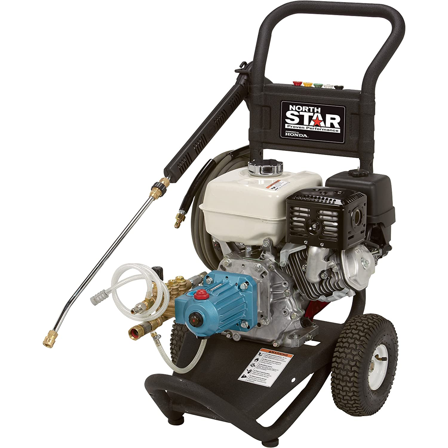 NorthStar Gas Cold Water Pressure Washer – 3300 PSI, 3.0 GPM, Honda Engine, Model Number 15781820