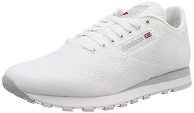 f8f9e919a2145 Reebok Men s Cl Leather Og Ultk Gymnastics Shoes White (White Steel  White Steel