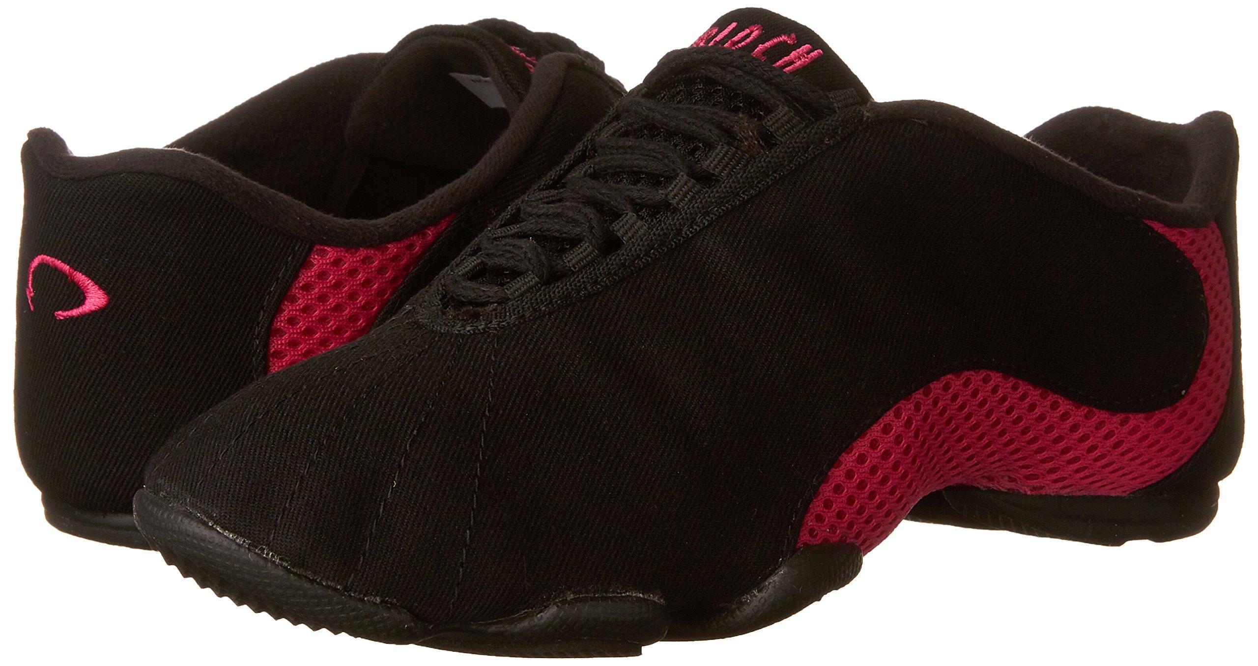 Bloch Dance Women's Amalgam Canvas Dance Sneaker, Hot Pink, 9.5 X(Medium) US by Bloch (Image #6)