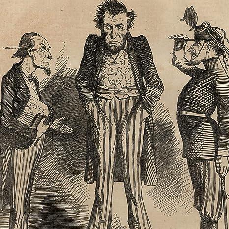 Amazon Com Abraham Lincoln Political Cartoon 1862 Civil War
