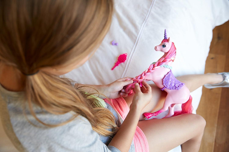 Barbie DHC38 Unicorno, Multicolore
