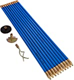 Bailey 5503 3/4-Inch Lockfast Drain Rod Set with 10 Rods and Tools Carry Bag - Blue