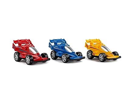 Amazon Com Set Of 3 Spinning Friction Powered Car Toys Toy Push