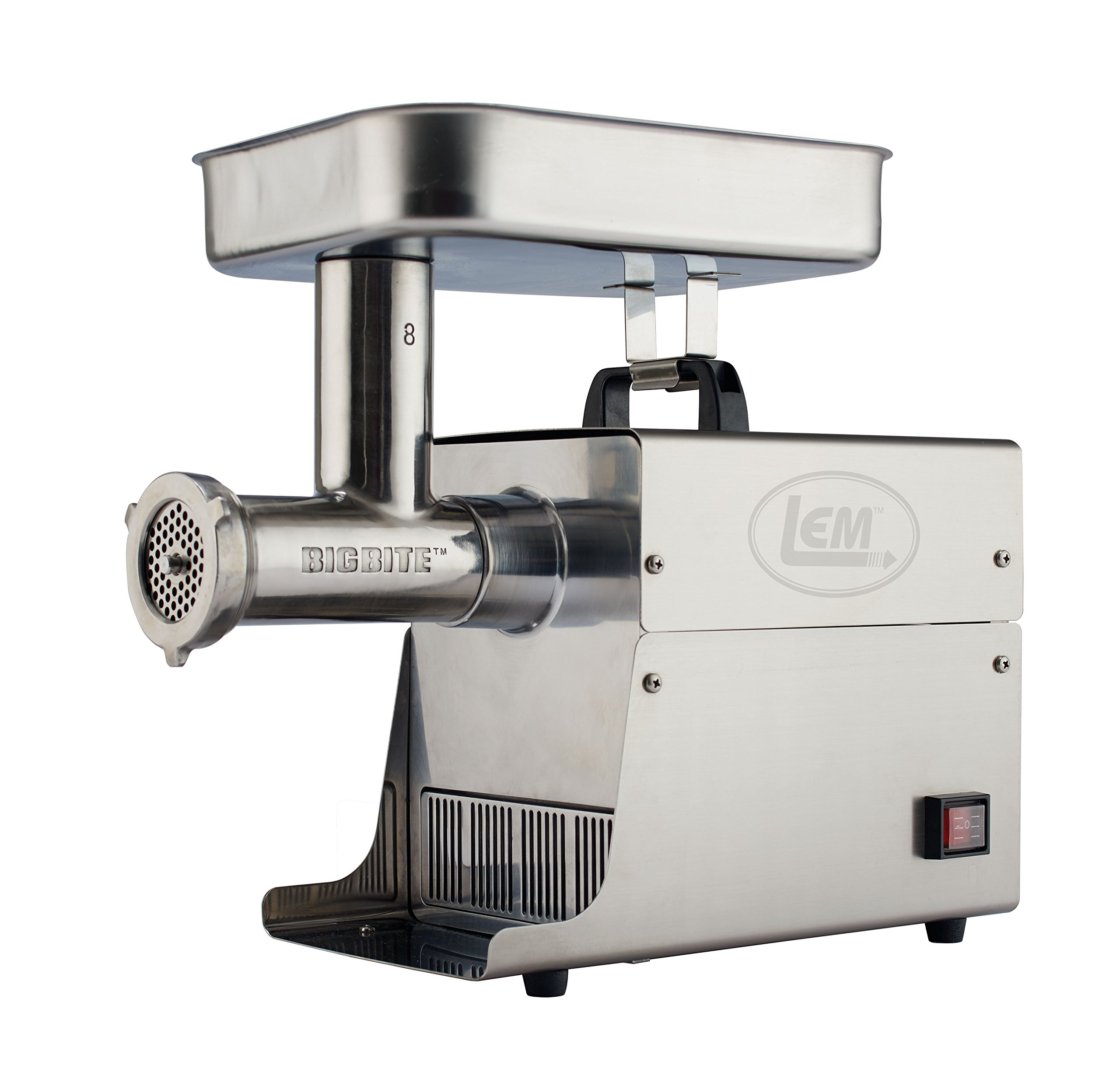 LEM Products 17791 Big Bite #8 .5HP Stainless Steel Electric Meat Grinder by LEM