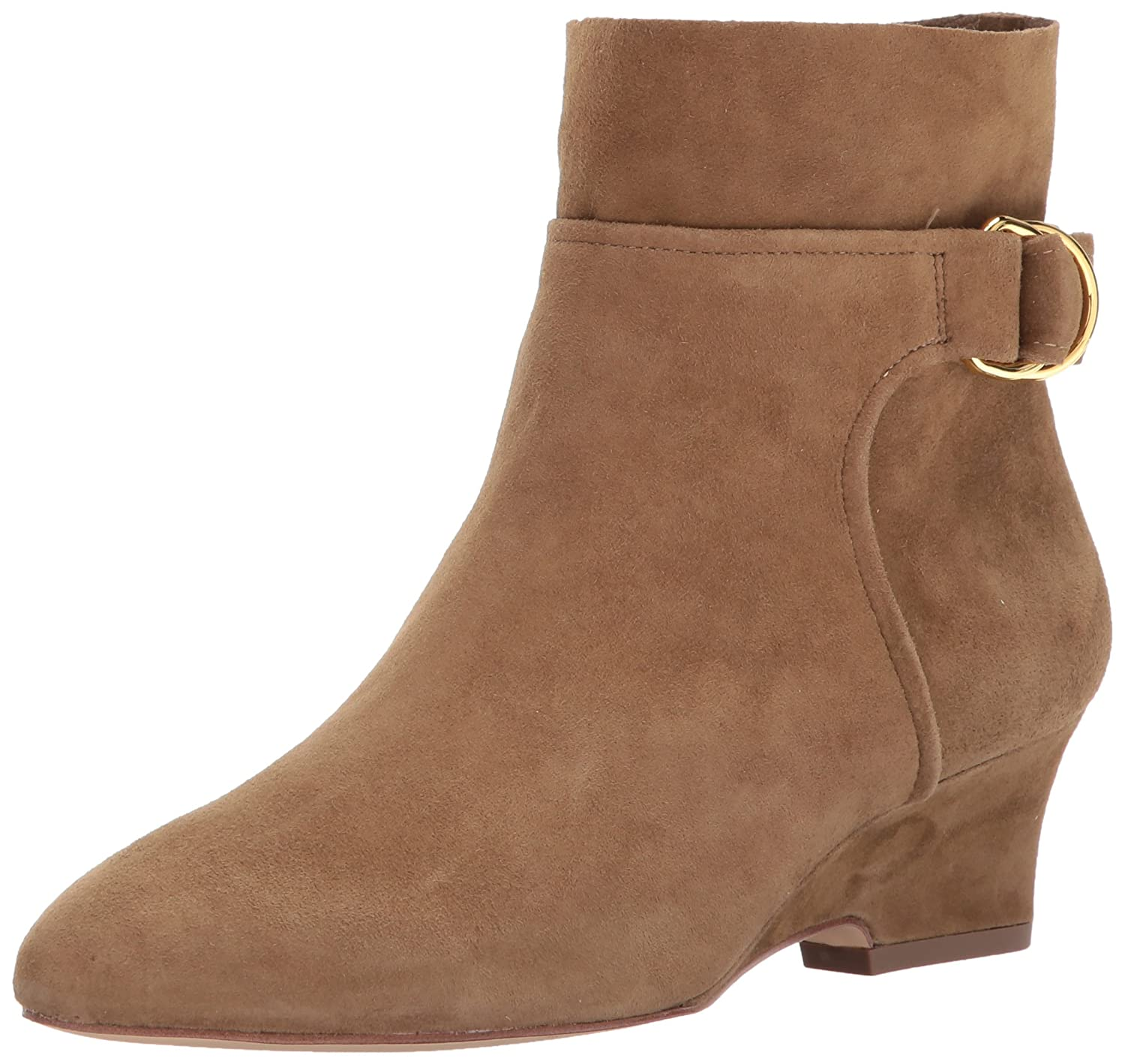 Nine West Women's Jabali Ankle Boot B06VVJ66KP 9.5 B(M) US|Green Suede