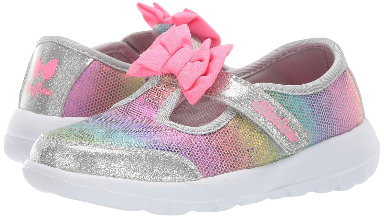 Skechers Kids Go Walk Joy-Bitty Glam Sneaker