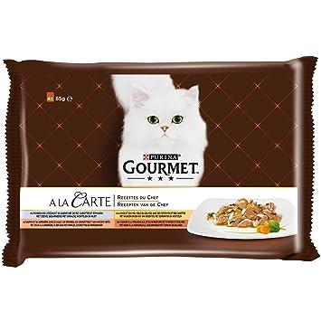 GOURMET a la tarjeta repas para gato adulto definición & Volume diferentes
