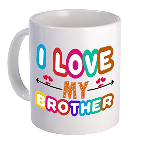I Love My Brother Gift For Birthday Anniversary