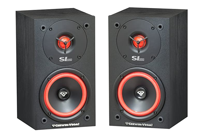 Cerwin Vega SL5M 2 Way Bookshelf Speakers