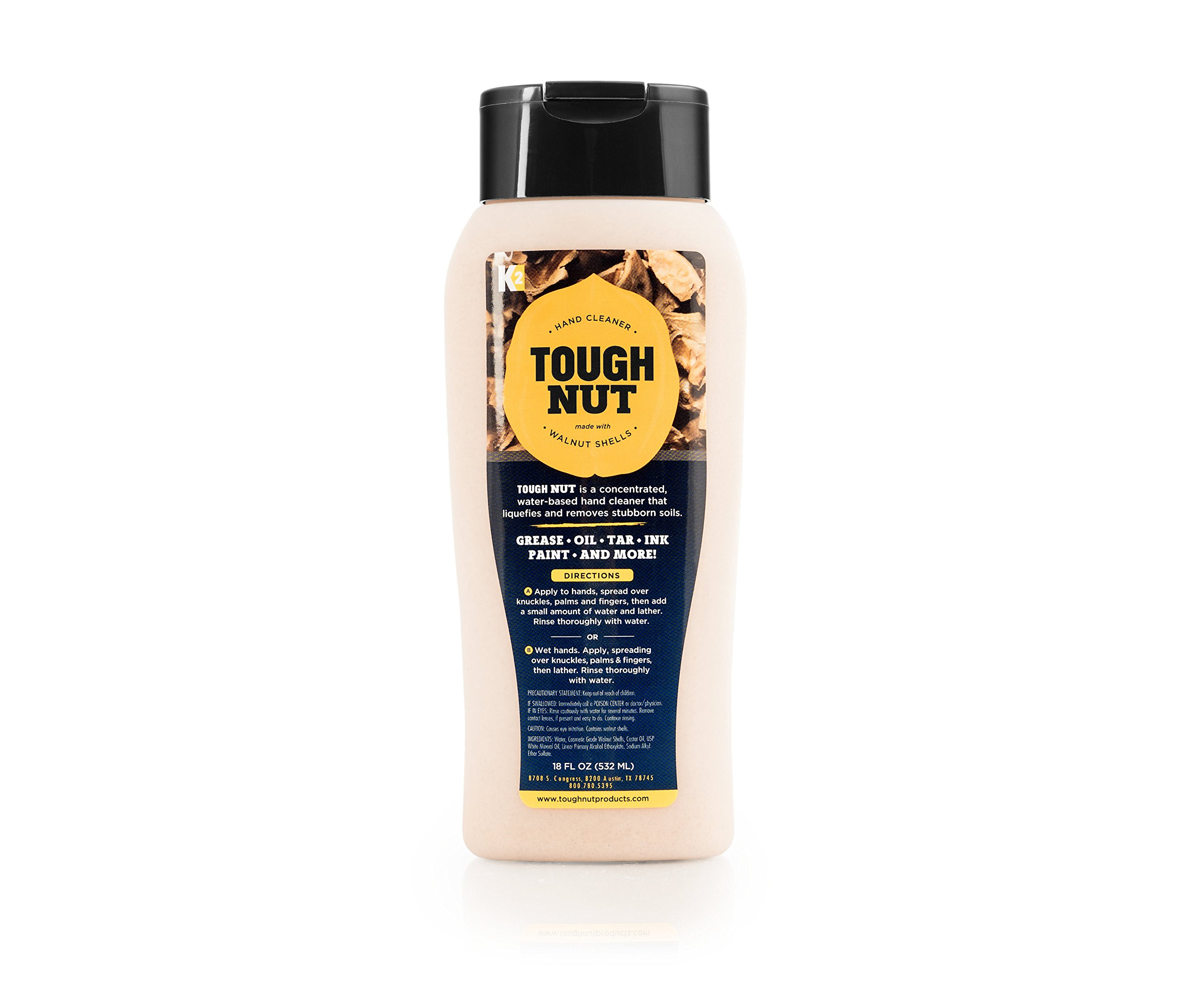 The Original Tough Nut Hand Cleaner - Heavy Duty, Removes Grease, Oil, Dirt