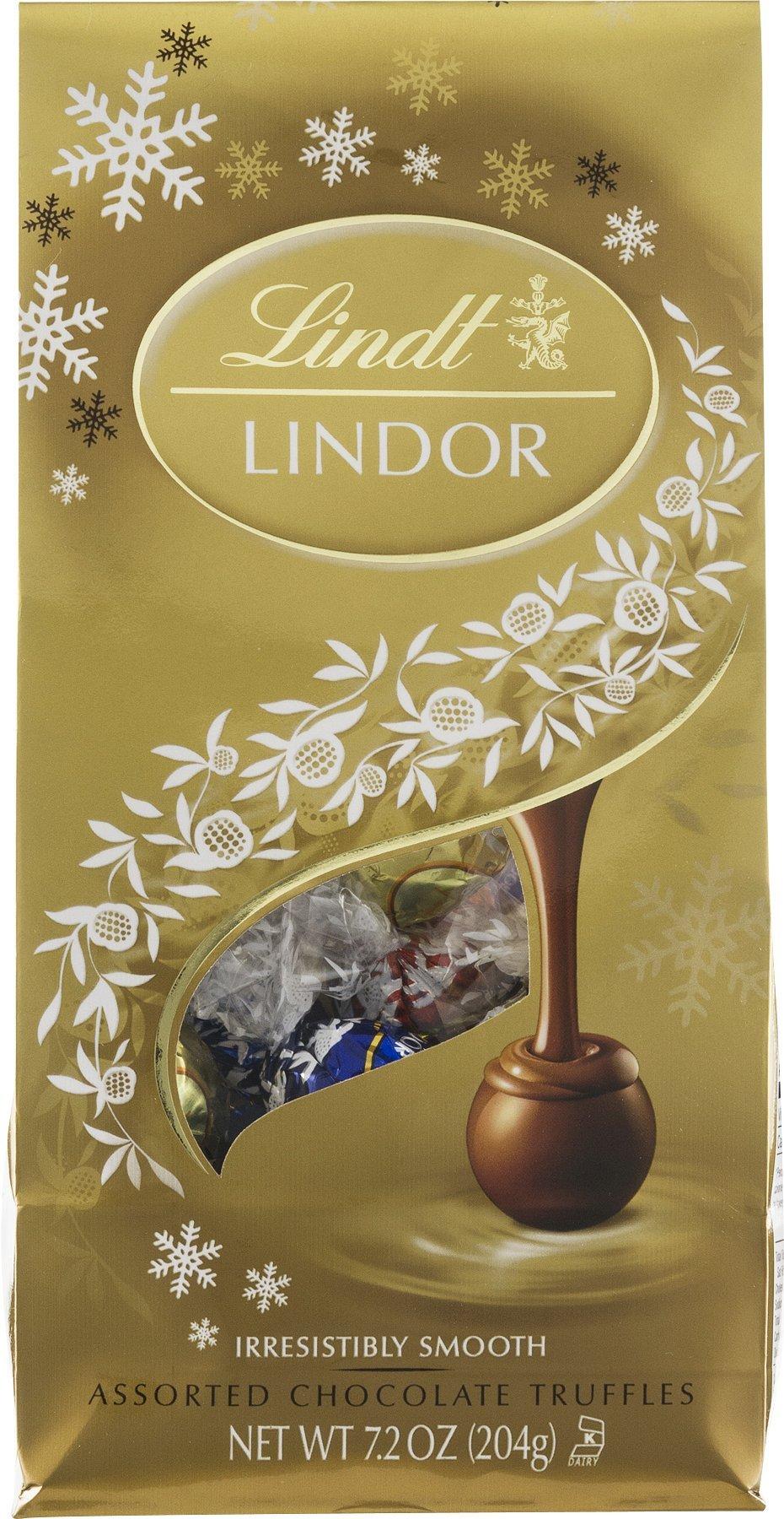 Lindt Lindor Assorted Chocolate Truffles 5.1 Oz, Pack of 1