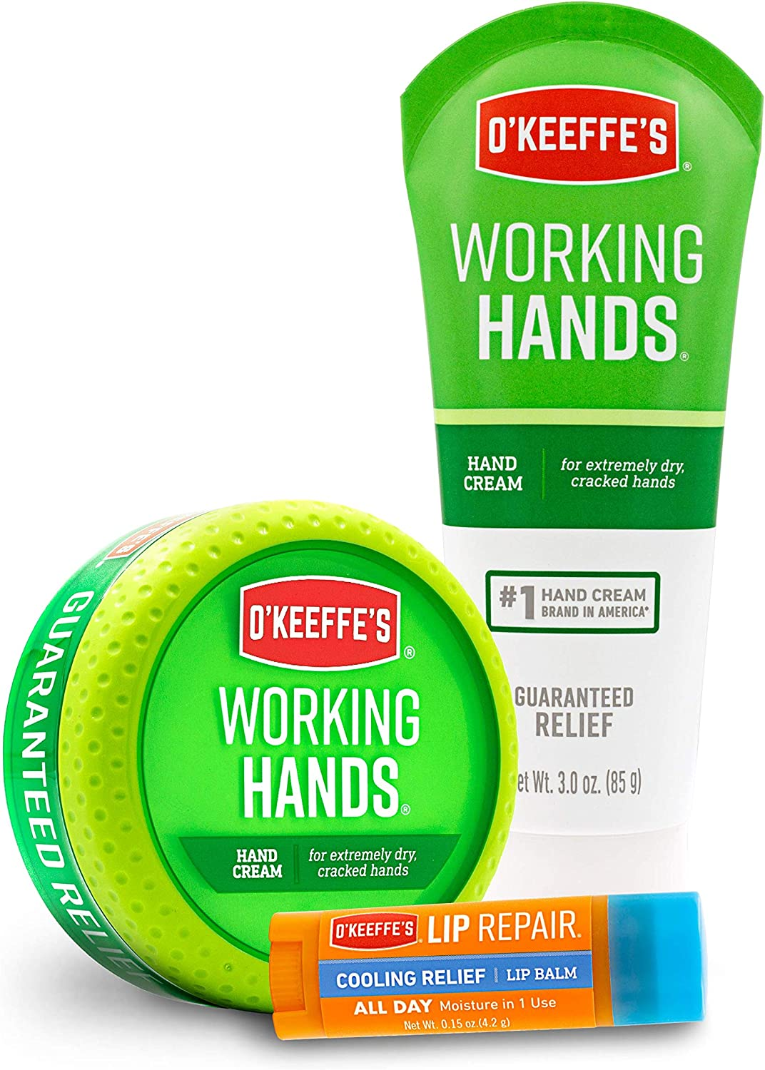 O'Keeffe's Working Hands & Lip Repair Variety Pack: Home Improvement