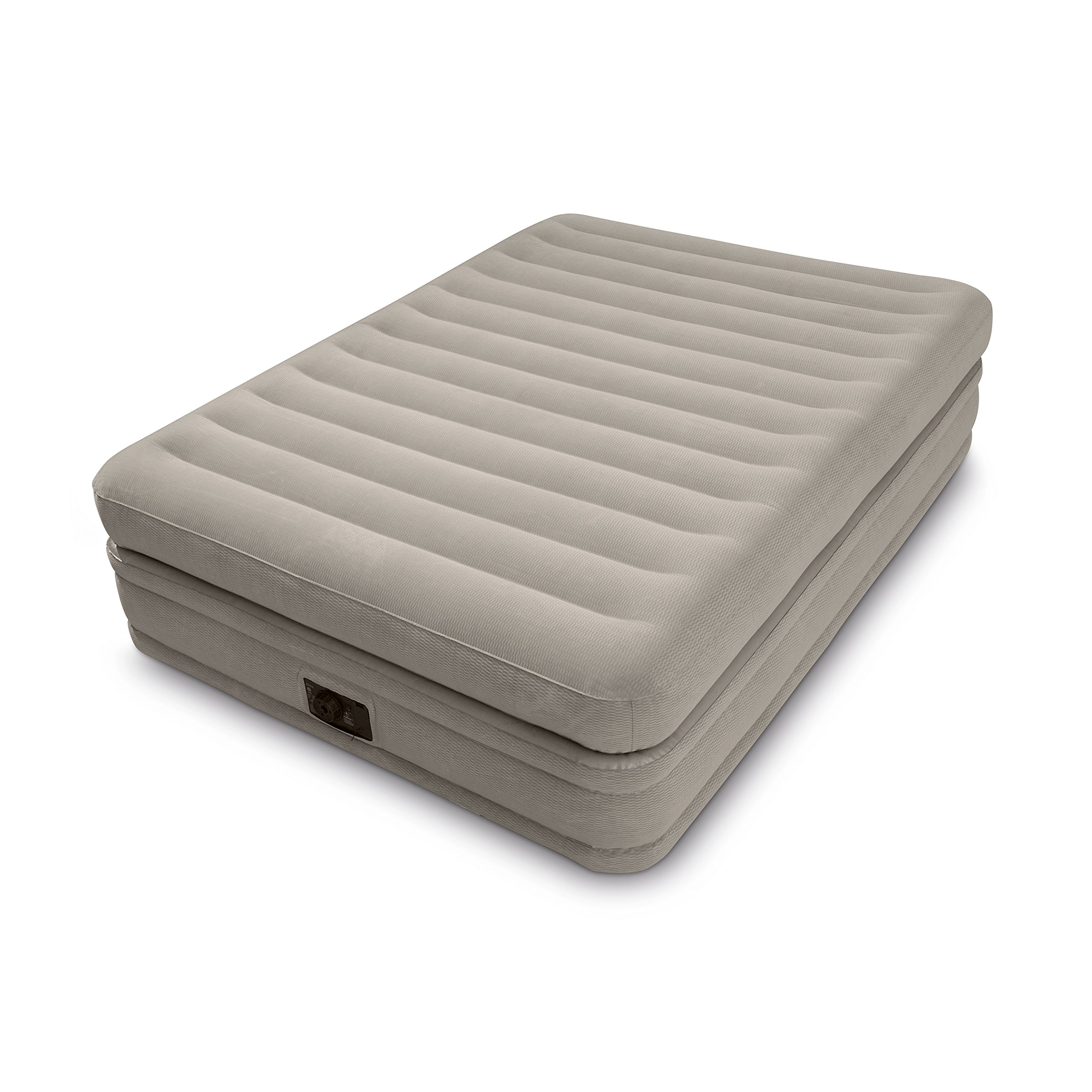 Intex Inflatable Prime Comfort Elevated Queen Airbed with Built-in Pump | 64445E