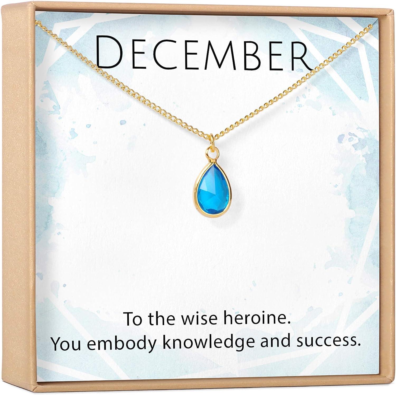 Mixed Metals 4 Rings 4 Ring Tanzanite Necklace Tanzanite Gemstone 40th Birthday Necklace December Birthday Gift December Birthstone